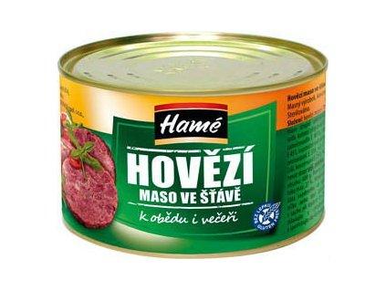 Hovězí maso se šťávou Hamé 8x400g