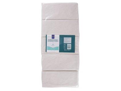 Papírové ručníky Metro Professional 2-vrstvé bílé Multipack 5x150ks