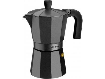 Kávovar Monix VitroNoir 6 šálků black