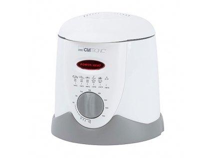 Fritéza Clatronic, FFR 2916, mini, fondue, termostat, 1 l, 6 vidliček, pach filtr, 900 W
