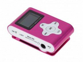 MP3 přehrávač s LCD displejem, FM radio Kruger&Matz Quer KOM0744