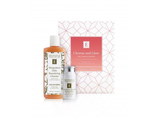 eminence organics cleanseglow box products rgb