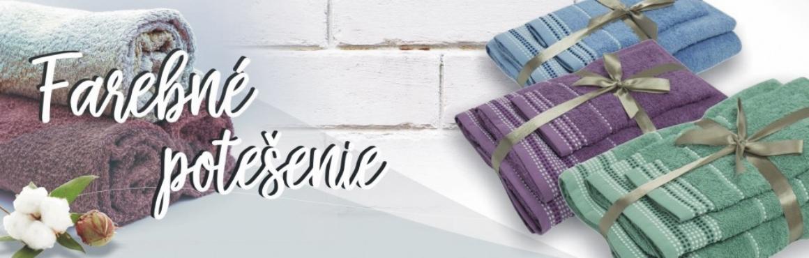 uteráky a osušky Dots