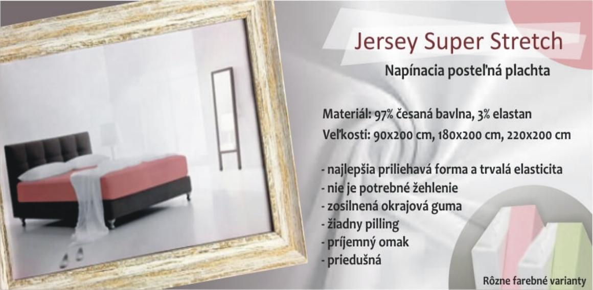 Jersey plachty na vysoké matrace