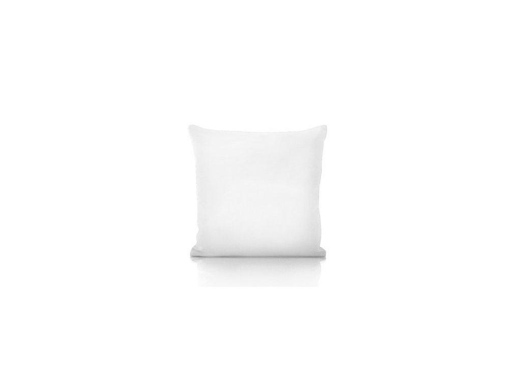 biely vankúš 40x60 cm