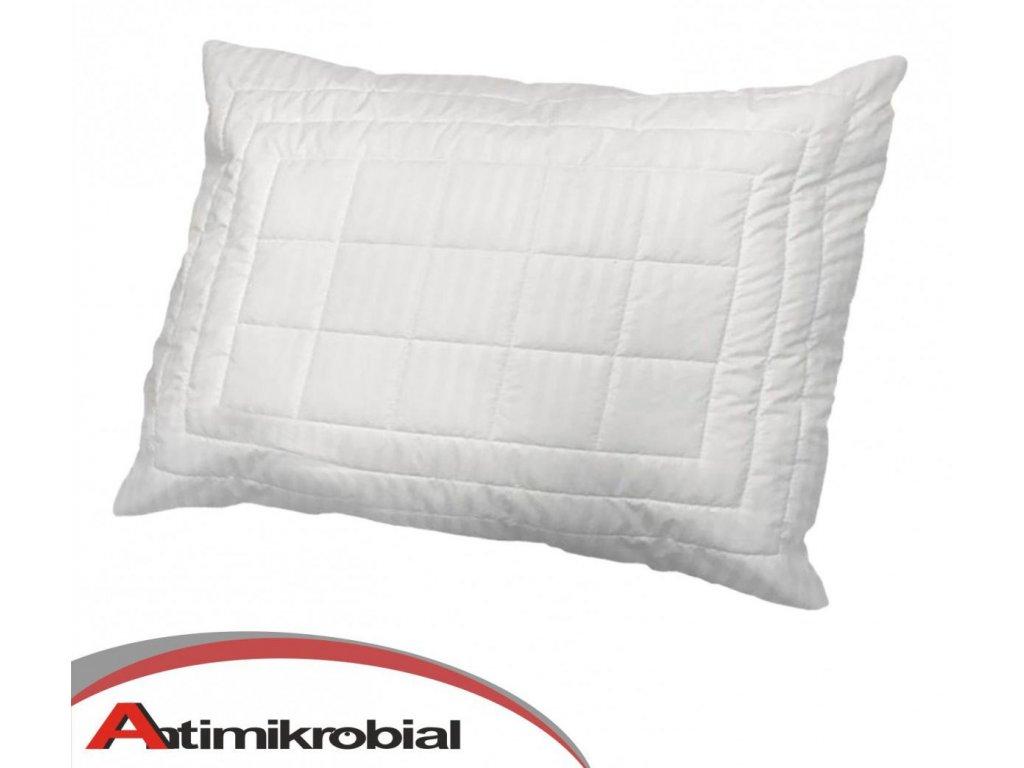 Antimikrobiálny vankúš v bielej farbe