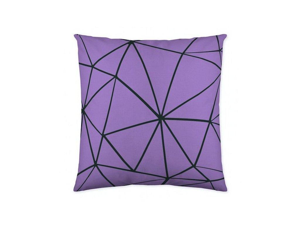 dekoračný vankúš Triangle lila