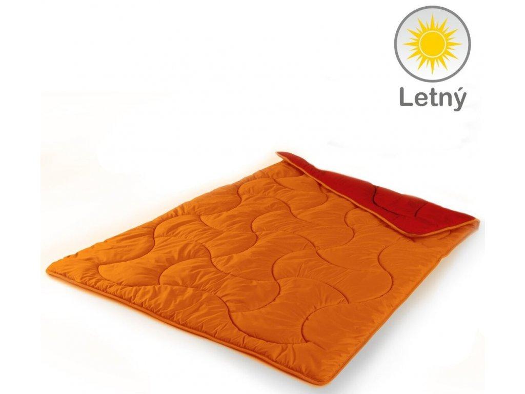 letné paplóny Fresh Cool farba bordová a oranžová