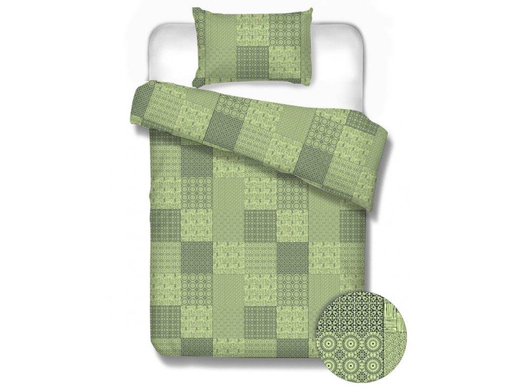 Bavlnené obliečky Štiavnica green