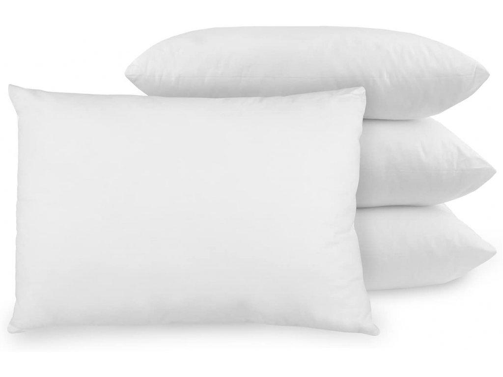 antialergické biele vankúše Medica 70x90 cm