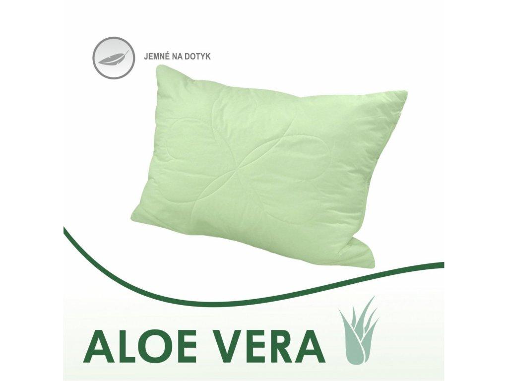 Antialergický vankúš Aloe Vera green 50x70 cm