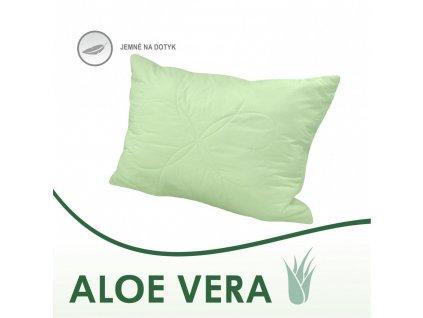 Aloe Vera vankúš v zelenej farbe