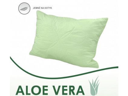 Vankúš Aloe Vera green zelený