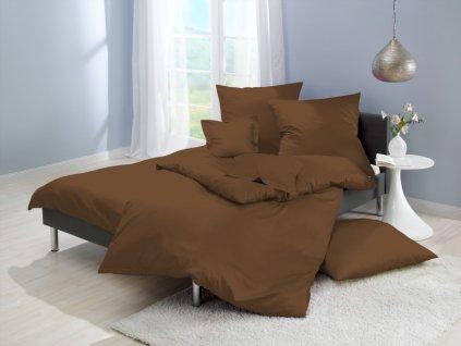 obliečky mikrovlákno farba hnedá 70x90, 140x200 cm na emozzione.sk