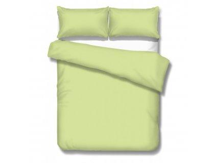 jednofarebné saténové obliečky Satén lime