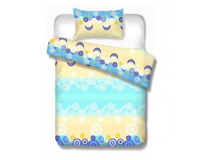 bavlnené obliečky NEMIRA BLUE