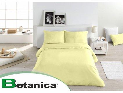lyocellové obliečky Uni yellow