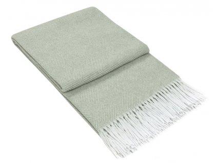 bavlnená deka Ibiza grey v sivej farbe