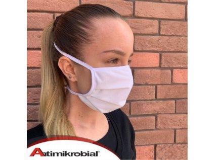 Antimikrobial ochranné rúško