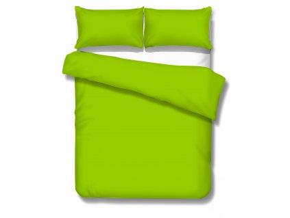Jednofarebné saténové obliečky 140x200 cm Satén greenary