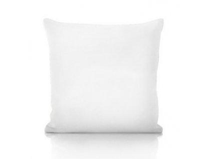 biely vankúš 45x45 cm