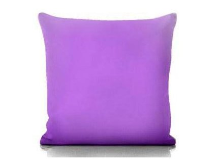 fialový vankúš 50x50 cm
