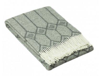 vlnená deka Merino grey