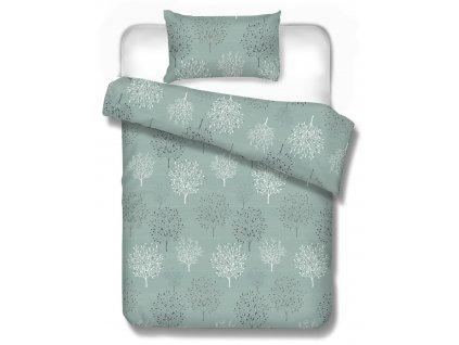 obliečky na manželskú posteľ 220x200 cm a 240x210 cm Toronto mineral