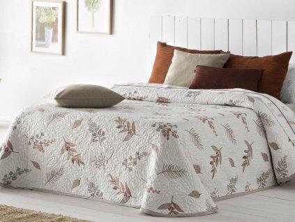 žakárový prehoz na posteľ Dasai terra