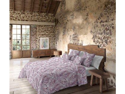 lyocelové obliečky Luxemburg lavanda  - Tencel, 100% lyocelové vlákna