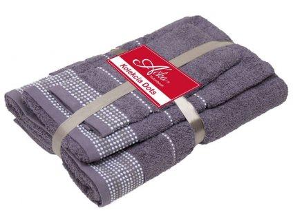 uteráky a osušky Dots excalibur