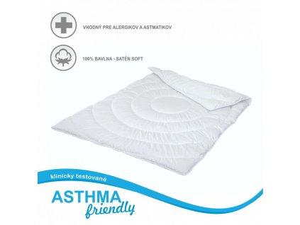detský antiastmatický biely paplón Asthma friendly