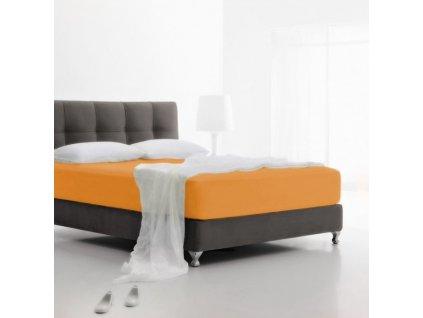napínacie plachty Jersey mandarinka