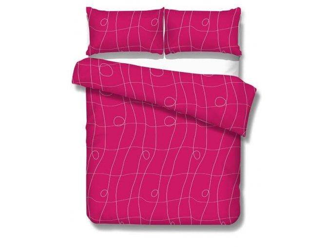CURL FUCHSIA - obliečky micrometallic