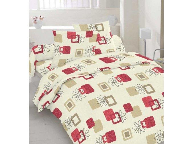 obliečky ROMANA RED 70x90, 140x200 cm Emozzione