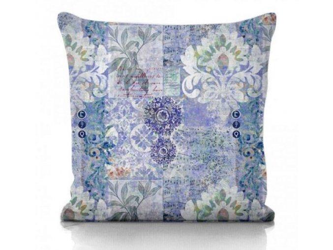 dekoračné vankúš Tivoli blue