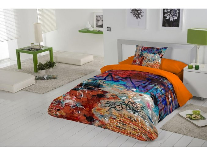 GRAFFITI - bavlnené obliečky
