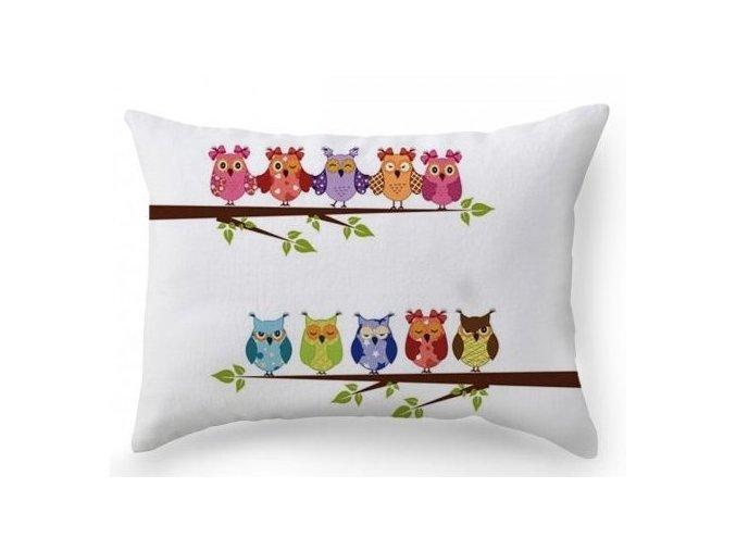 Owls vankúše