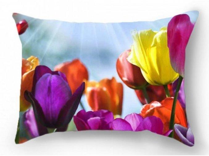 dekoračný vankúš Tulip