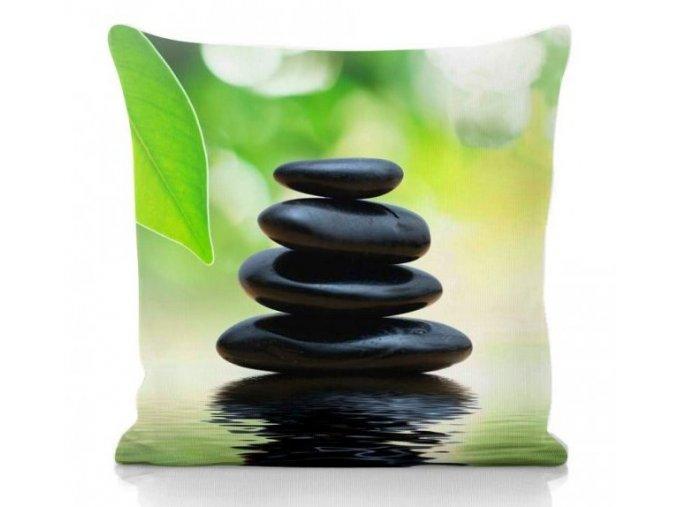 dekoračný vankúš s kameňmi Stones