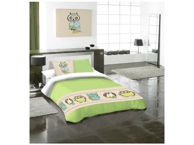 obliečky Bubu green