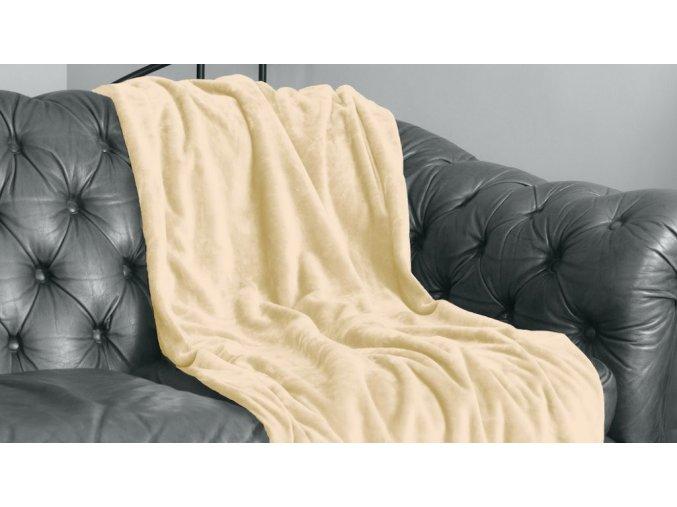 Hrejivá deka z mikro plyšu Velvet 220x240 cm