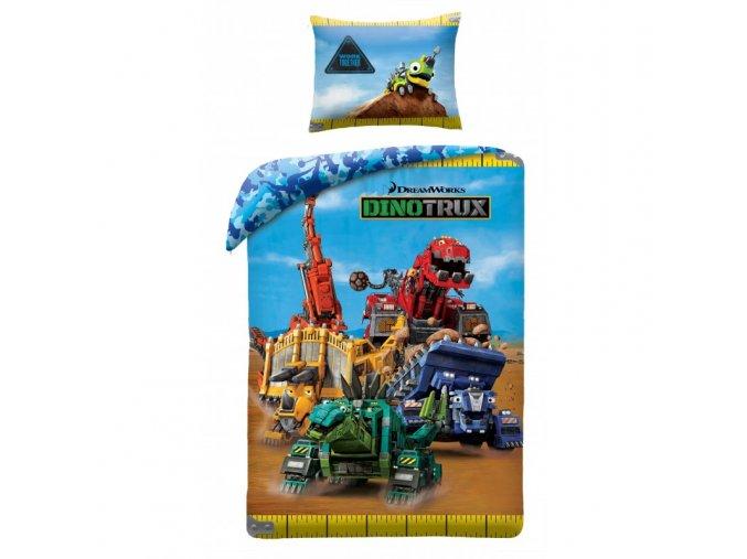 obliečky Dinotrux