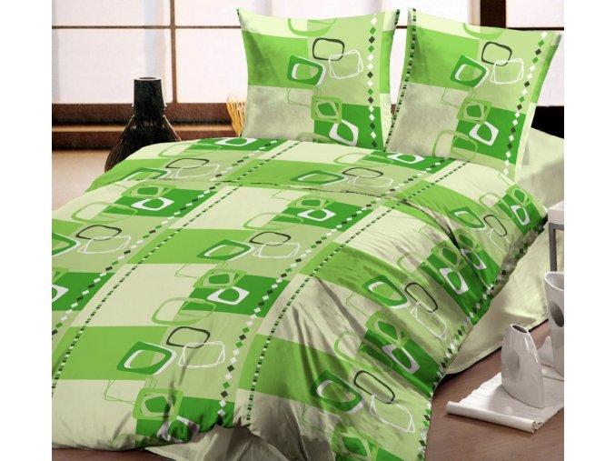 obliečky Rijeka green