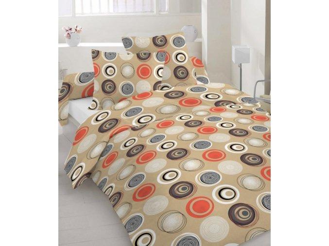 bavlnené obliečky Vilnus terra dvojposteľ