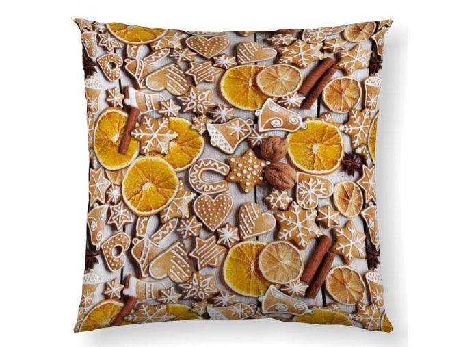 dekoračný vankúš Naranja