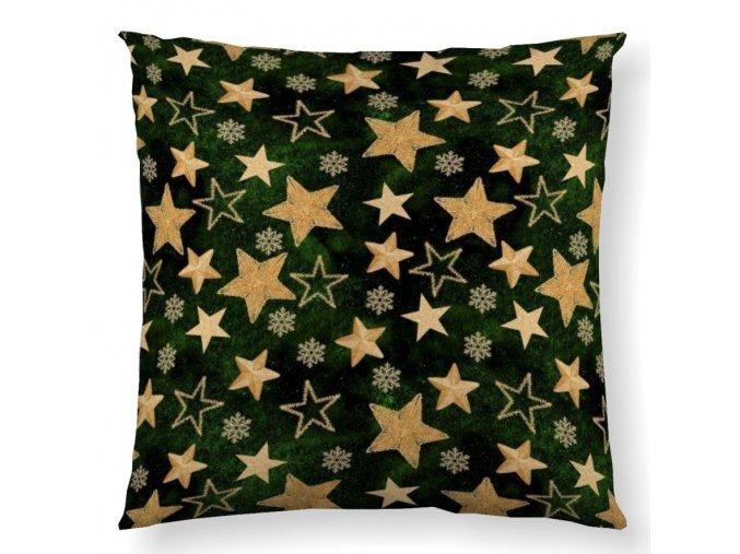 dekoračný vankúš Supernova green