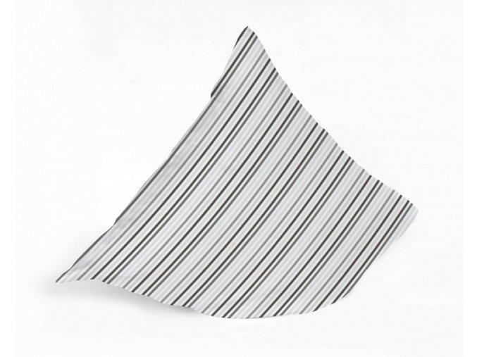 siena grey stripes návliečky