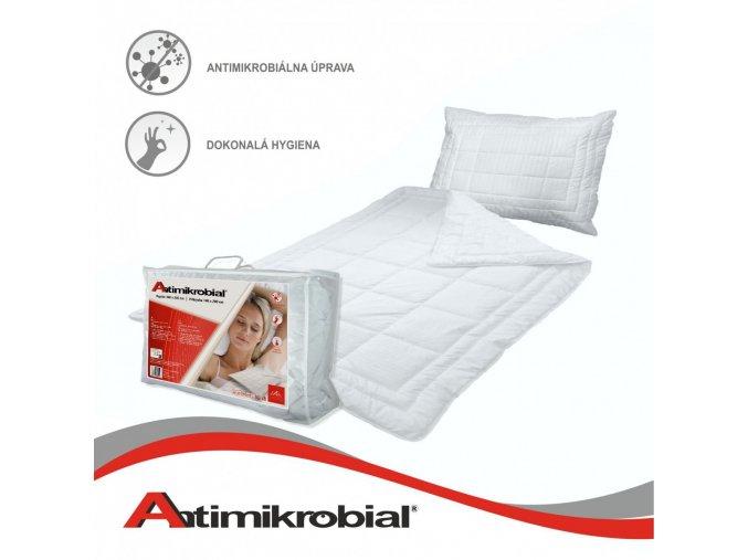 antimikrobiálny vankúš a paplón Antimikrobial