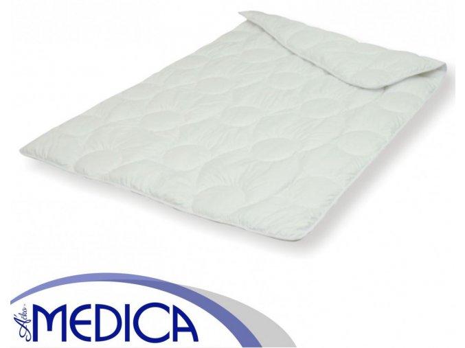 Detský antialergický paplón Medica Micro biely